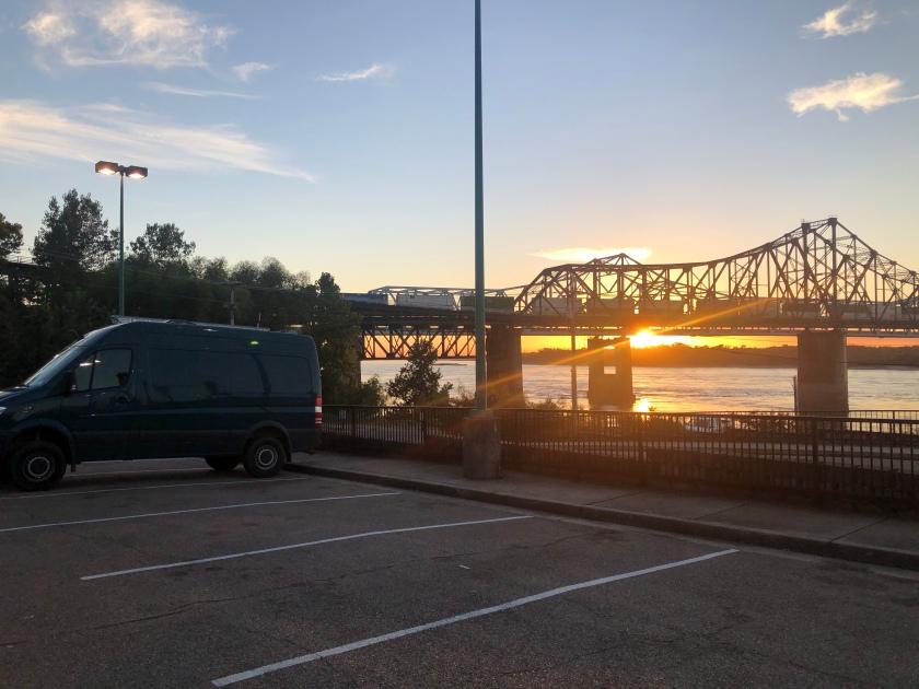 Sunset from Casino